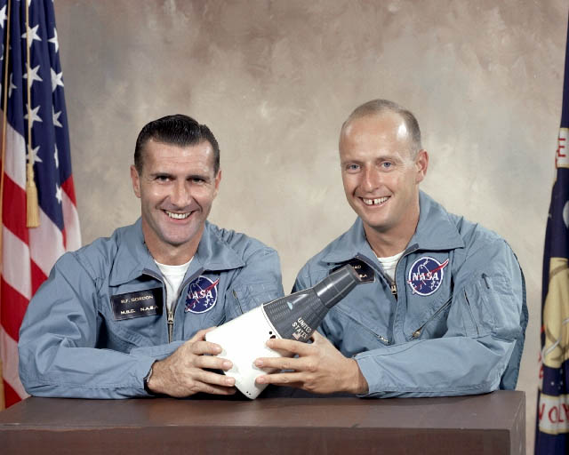 Dick Gordon, Pete Conrad