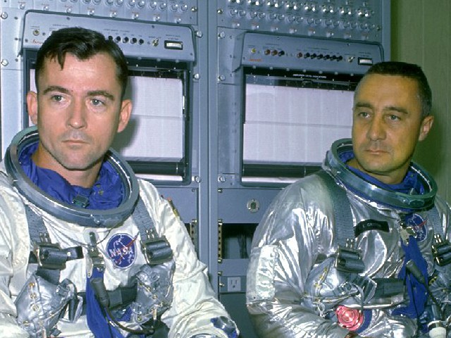 John Young, Gus Grissom