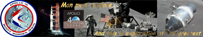 Apollo 40 Years - Apollo 15: Man must explore.