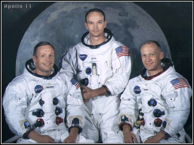 Neil A. Armstrong, Michael Collins, Buzz Aldrin