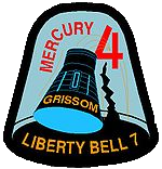 Mercury-Redstone 4, Liberty Bell 7 mission patch