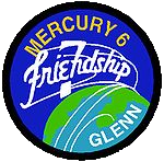 Mercury-Atlas 6, Friendship 7 mission patch