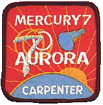Mercury-Atlas 7, Aurora 7 mission patch