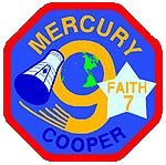 Mercury-Atlas 9, Faith 7 mission patch